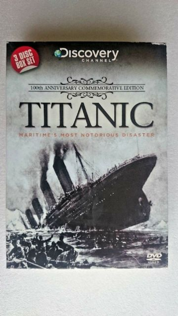 Titanic - Maritime's Most Notorious Disaster (DVD, 2012, 3-Disc Set)